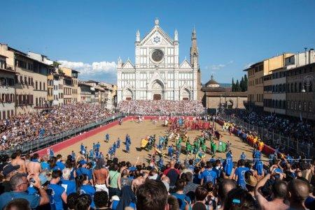 Le Calcio historique, un ancêtre du football des plus combatif