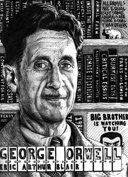 George Orwell, un écrivain visionnaire prônant le socialisme démocratique