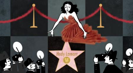 Hedy Lamarr, la plus belle femme du monde aux centre d'intérêts diversifiés