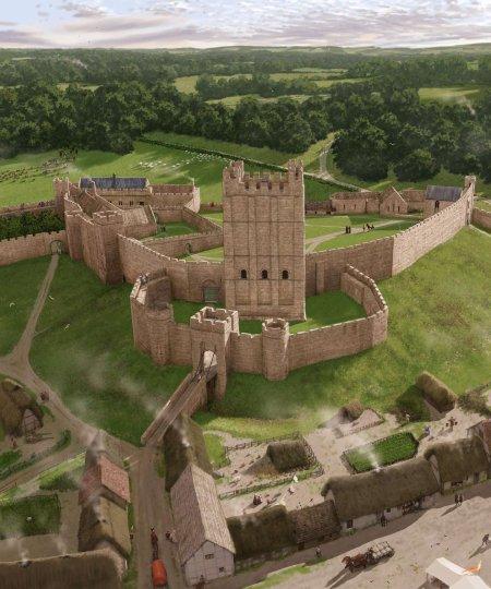 Richmond Castle, un Avalon tardif
