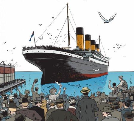 Titanic, le naufrage d'un géant des mers