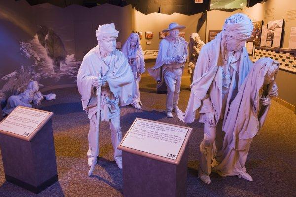 Le Sentier des Larmes, ou l'exil forcé des Cherokees