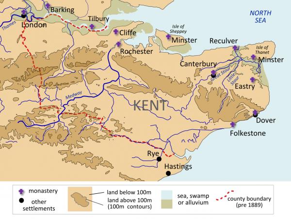 Eormenric, un roi du Kent influent