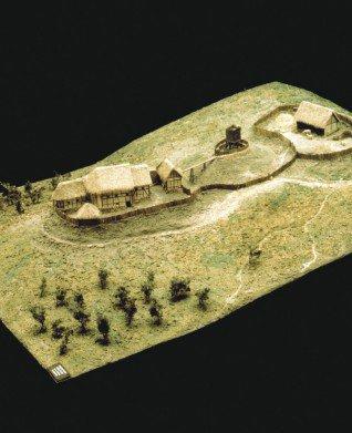 La motte castrale d'Olivet, la fortification de la branche cadette de la famille Taisson