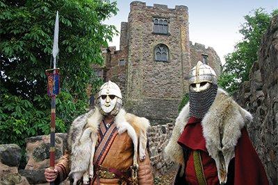 Tamworth, une forteresse devenu un des palais royaux de Mercie