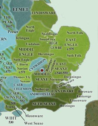 Les Wreocensaete, les Pencersæte, et les autres groupes de Mercie