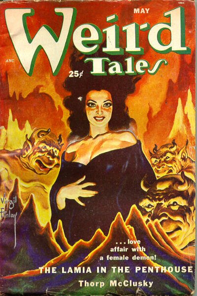 Weird Tales, le pulp de légende