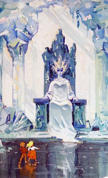 La reine de Neiges, un conte autobiographique