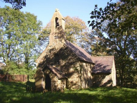 Castell Dwyran, le lieu où fut découverte la pierre mémorielle de Vortipor