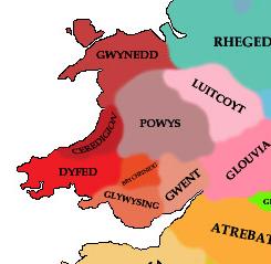 Le Brycheiniog, un royaume cherchant son indépendance