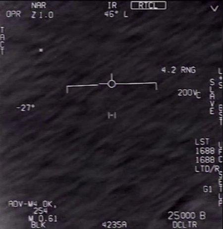 Trois vidéos d'Ovnis déclassifiées par le Pentagone
