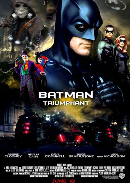 Les Batman de Joel Schumacher, victimes des responsables marketing de la Warner