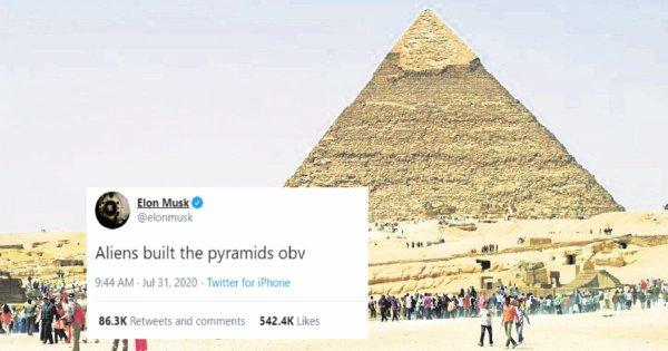 L'Égypte répond à Elon Musk sur la construction des pyramides