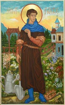 Saint-Fiacre, le patron des jardiniers
