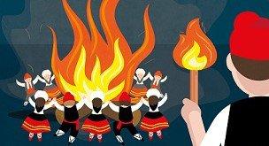 La Saint-Jean, entre un prédicateur populaire et des feux de joie