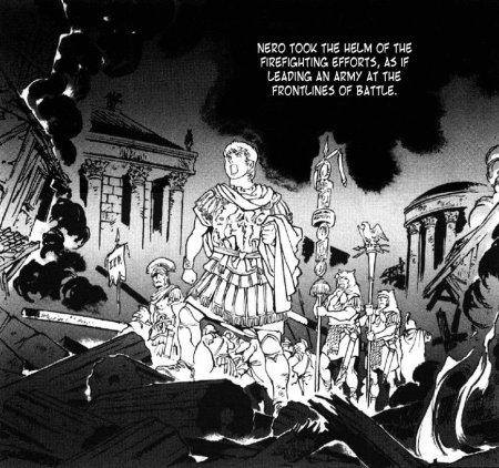L'incendie de Rome, ou comment Néron a réussi à redorer son image mais pas à arrêter sa chute
