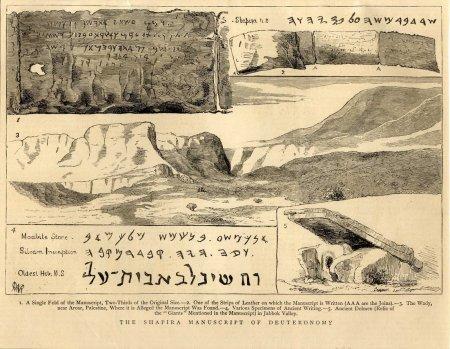 Moses Shapira, le faussaire d'objets bibliques