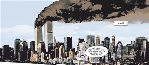 Tantei wa mō, Shindeiru., ou comment faire une histoire à partir d'une détective morte, et 9/11, une bande dessinée montrant comment est arrivé le 11 septembre 2001