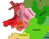 Powys et Pengwern, une entité unique divisée face aux appétits de la Mercie puis de la Northumbrie