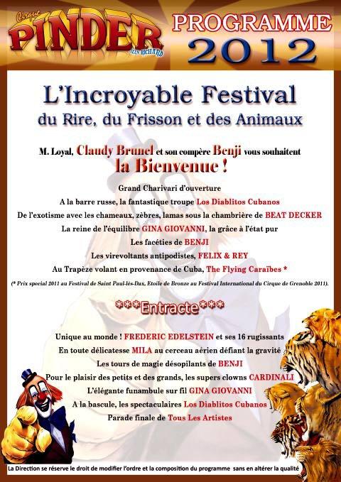 info programme