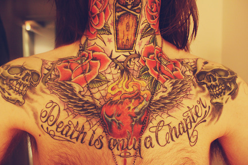 La mort est seulement un chapitre