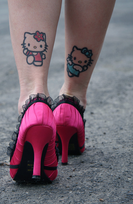 Hello Kitty addict
