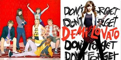 Les séries et albums des stars Disney