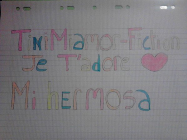Pour TiniMiamor-fiction ♥♥