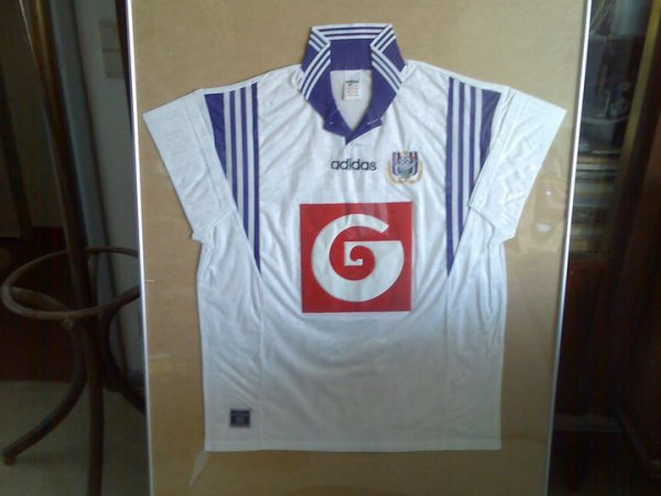 SUPERBE MAILLOT COLLECTOR.... R.S.C.ANDERLECHT