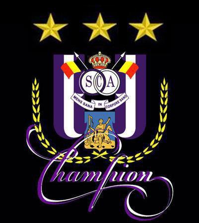 R.S.C.ANDERLECHT CHAMPION TRENTE FOIS