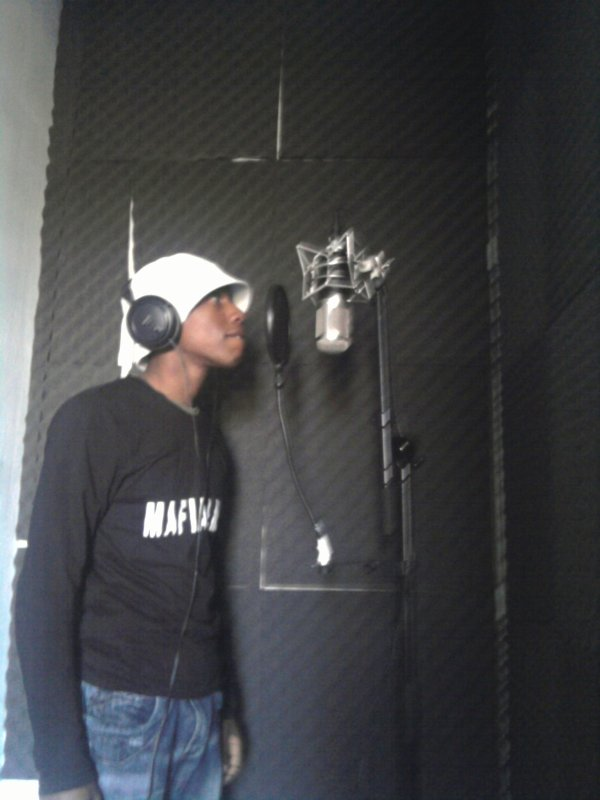 moi au studio