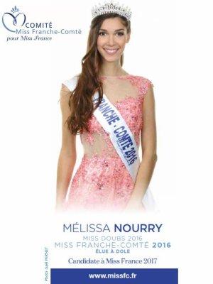 Mélissa Nourry - Miss Franche-Comté 2016
