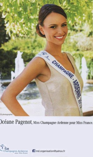 Océane Pagenot - Miss Champagne-Ardennes 2015