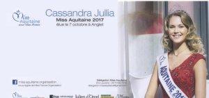 Cassandra Jullia - Miss Aquitaine 2017