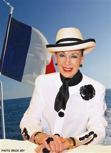Geneviève de Fontenay - Ancienne présidente du comité Miss France