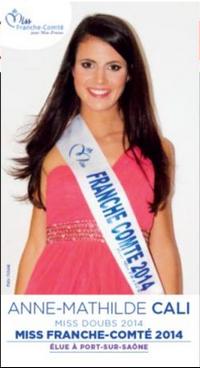 Anne Mathilde Cali - Miss Franche Comté 2014