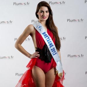 Marie Chartier - Miss Bretagne 2013