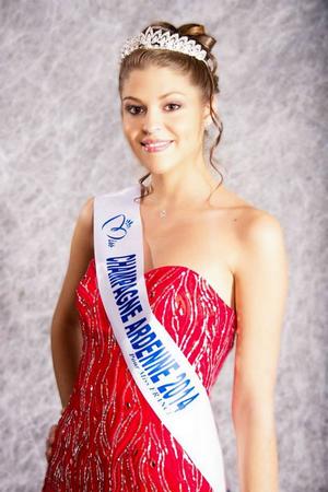 Mélissa Cervoni - Miss Champagne Ardenne 2014