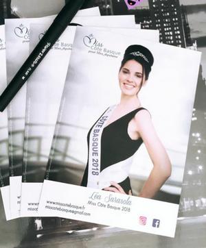 Léa Sarasola - Miss Côte Basque 2018