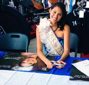 Mehiata Riaria - Miss Tahiti 2013