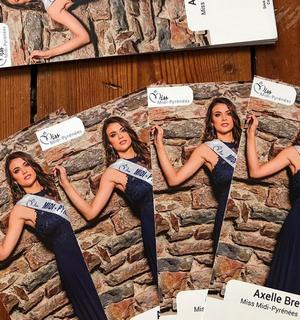 Axelle Breil - Miss Midi Pyrénées 2018