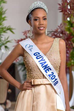 Laureline Decocq - Miss Guyane 2018