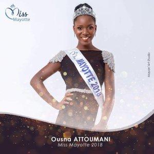Ousna Attoumani - Miss Mayotte 2018