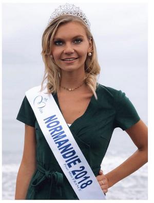 Anaëlle Chrétien - Miss Normandie 2018