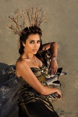 Amandine Chabrier - Miss Nouvelle Calédonie 2018