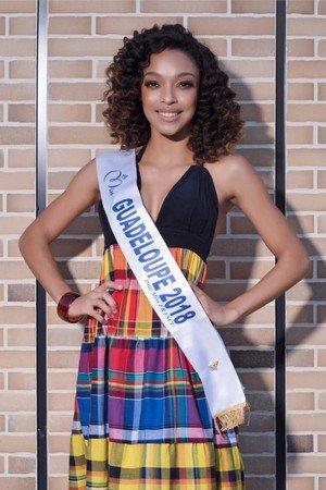 Ophély Mezino - Miss Guadeloupe 2018