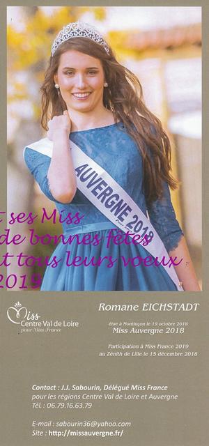 Romane Eichstadt - Miss Auvergne 2018