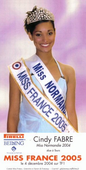 Cindy Fabre - Miss France 2005