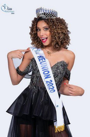 Lyna Boyer - Miss Réunion 2020