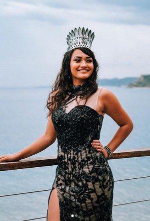 Mylène Halemai - Miss Wallis et Futuna 2020